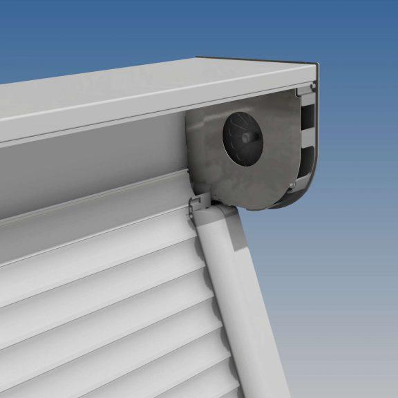 Protections solaires Projection pour volet motorisé