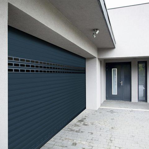 porte de garage à lames  Carrol 55 SOPROFEN